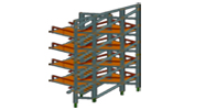 VRML sample : Zagaican - Birou Structuri SRL : External steel stairs for Transilvania Bank, Zagaican - Birou structuri