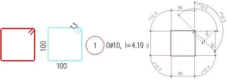 Wie werden die Stablängen berechnet