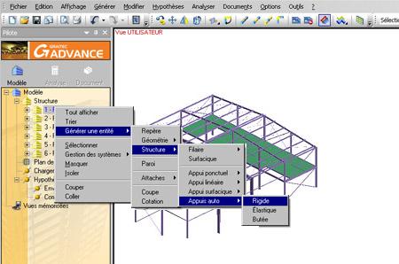 Comment générer rapidement les semelles de fondations d'un bâtiment