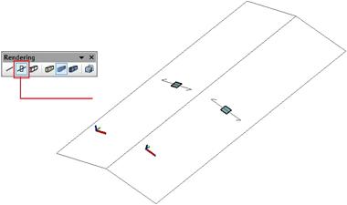 Wie kann man eine Lastebene für das Dach einer Stahlkonstruktion definieren