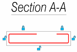 What are segment locks used for
