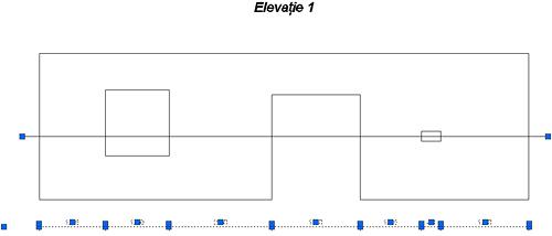 Cum pot defini care elemente să fie cotate într-o cotă de intersecţie
