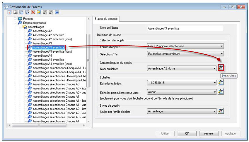 Comment modifier le nom de fichier d'un plancréé par un process ?