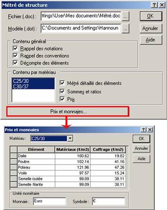 Comment créer un métré automatiquement