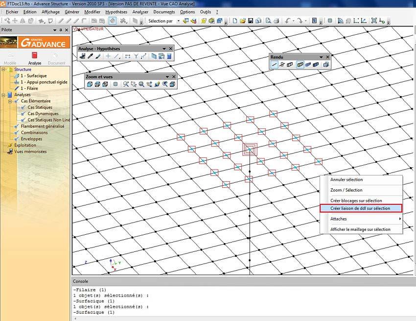 Comment modéliser un plancher dalle sur ressauts ou poteaux de grandes dimensions