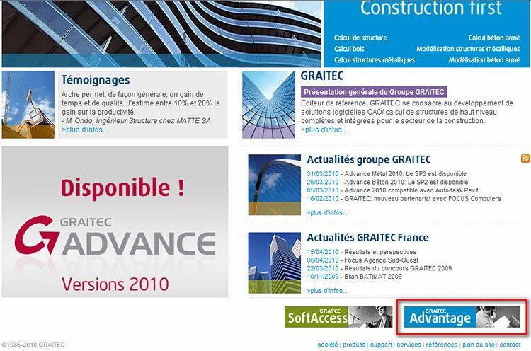 Comment recevoir les informations de GRAITEC (newsletter, Services Packs, FAQ), comment les choisir et les paramétrer dans la bonne langue