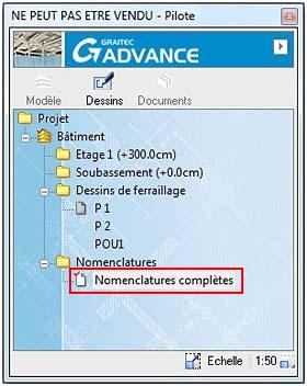 Comment créer des présentations pour nomenclature d'aciers?
