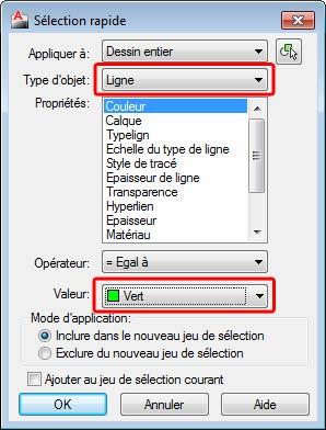 Comment est convertie une entité AutoCAD en élément de structure