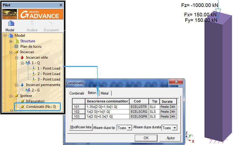 Cum se folosesc curbele limită de interacţiune pentru verificarea stâlpilor conform Eurcode 2