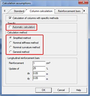 How are the interaction curves for column verification used according to Eurocode 2