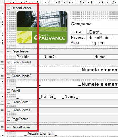 Cum pot fi personalizate template-urile pentru extrasele de materiale