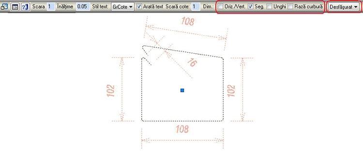 Cum se modifică grosimea liniei de reprezentare a detaliului de bară şi a barelor dintr-o repartiţie liniară