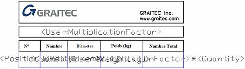 Comment créer une nomenclature à partir du générateur