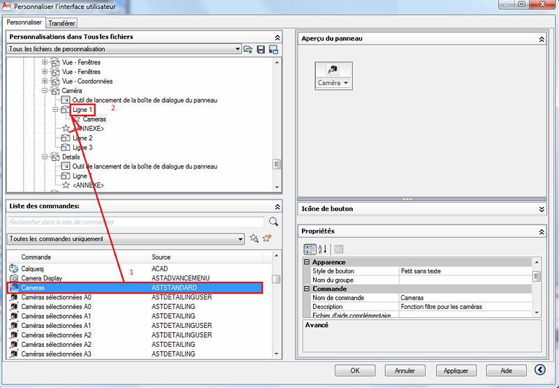 Comment personnaliser le profil du ruban dans Advance Steel