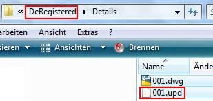 Welchen Zweck haben die '.upd' Dateien