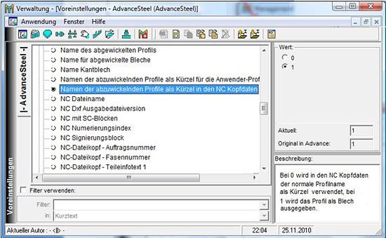 Wie werden Rohre in NC-Dateien dargestellt