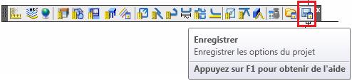 Comment enregistrer et charger tous les paramètres du projet