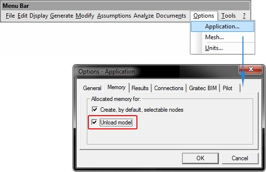 How can I reduce the amount of memory required by the calculation
