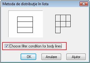 Cum se utilizează filtrul implicit într-un extras de armare