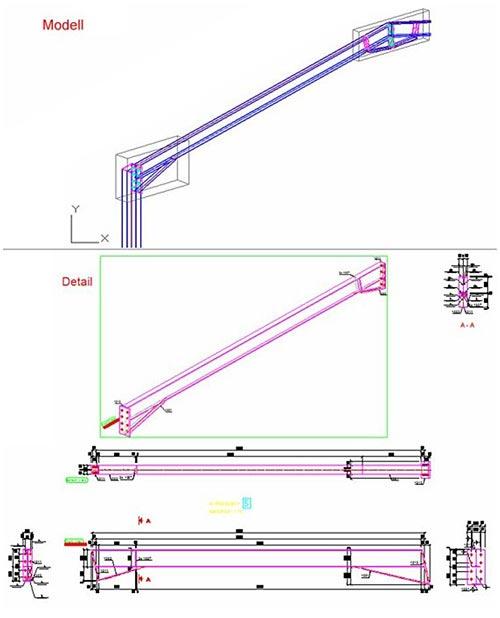 Wie kann eine isometrische Ansicht zu einer Hauptteilzeichnung hinzugefügt werden?