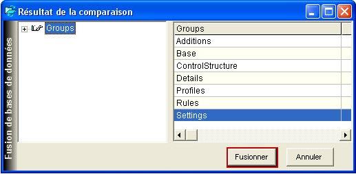 Comment récupérer une configuration d'une version précédente