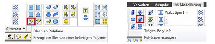 Wie werden elliptische Bleche oder elliptisch gebogene Träger erzeugt?