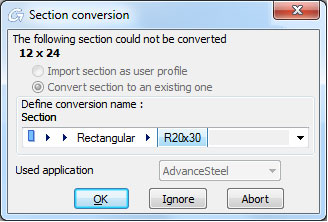 How  is a model exported from Revit and imported  in Advance Steel