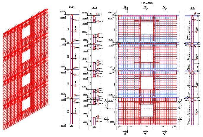 Care sunt avantajele utilizării comenzii Copiază modelul 3D în Advance Concrete