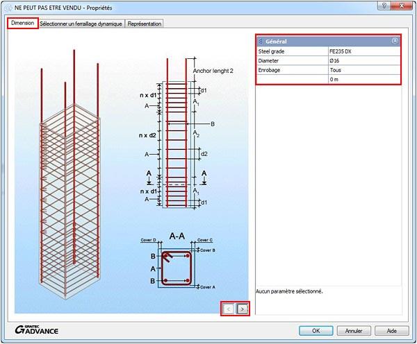 Comment optimiser l'utilisation du ferraillage dynamique?