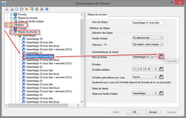 Comment modifier le nom de fichier d'un plan créé par un process ?