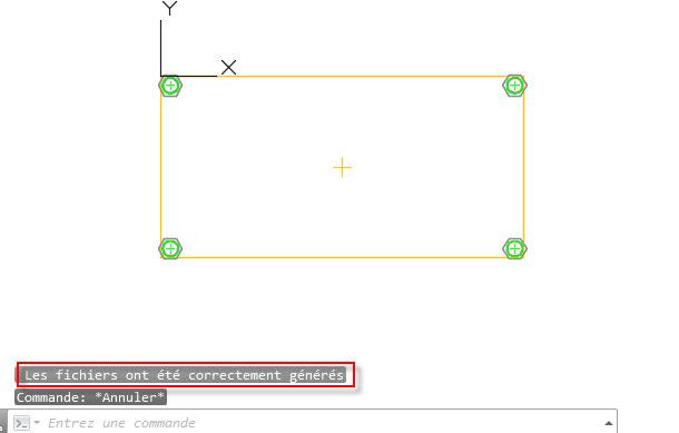 Comment contrôler la pince par défaut pour les trous dans les fichiers DSTV?