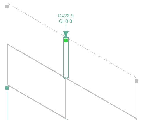 Pourquoi les charges sont plus faibles en pied de poteau qu'en tête lorsque celui-ci repose sur un voile ?