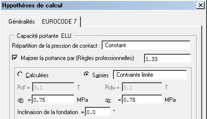 Pourquoi le dimensionnement d'une semelle est différent avant (en version 2014 SP1) et après (à partir de la version 2015 SP0) l'implémentation de la norme NF P 94-261 ?