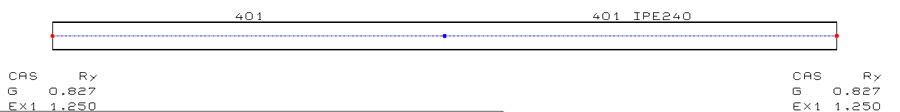 Peut-on calculer la fréquence propre d'une poutre isolée (hors cadre d'un portique) ?