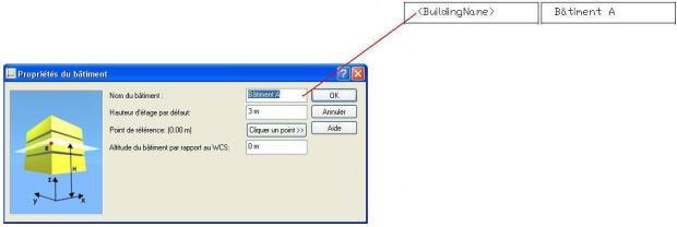 Comment utiliser les attributs d'un projet Advance Concrete dans les listes