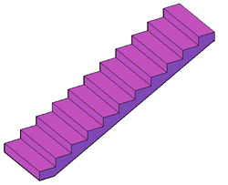 How do I create stairs in Advance Concrete