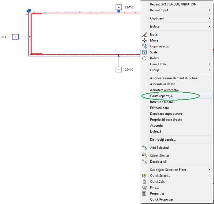 Cum se pot găsi barele de definiţie şi de repartiţie într-un model complex?