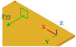 Dans quel repère peuvent être exprimés les résultats dans Advance Structure