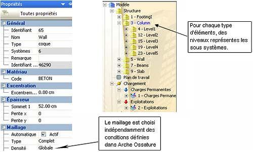 Comment faire un import d'un fichier Arche Ossature vers Advance Structure
