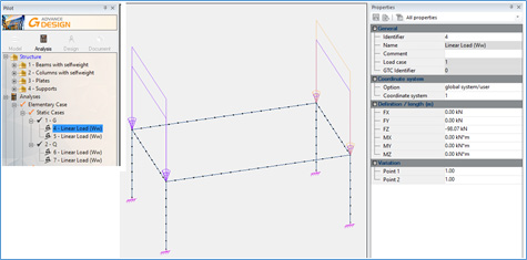 How to perform one-way slab modeling in Advance Design 2018