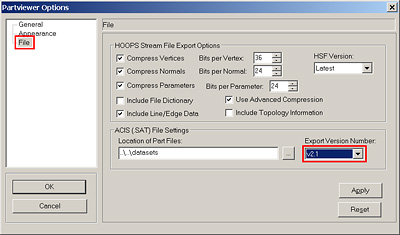Problems importing an ACIS solid