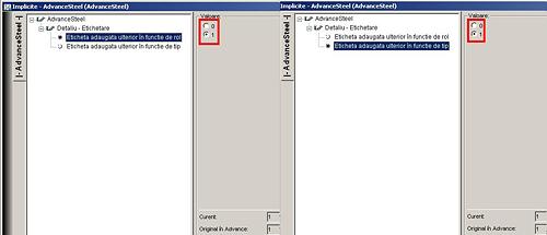 Cum configurez ce eticheta manuala este utilizata