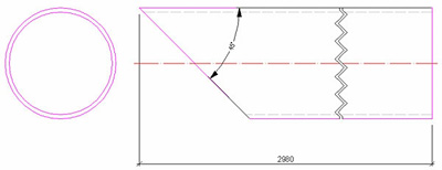 Wie wird auf einer Zeichnung eine Winkelbemaßung eingefügt?
