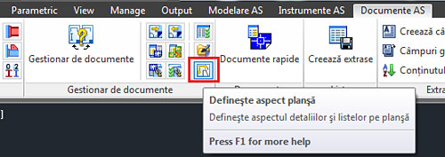 Cum se obţine automat formatul planşei în numele fişierului în momentul schimbării prototipului?