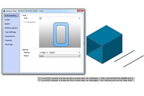 Comment sont représentés les objets absents des bases de données ?
