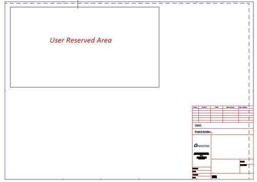How is a user defined area locked for detail arrangement configured?