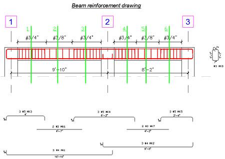 Reinforcement Detail Drawings Beam Details Reinforcement
