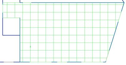 Que faire lorsqu'une dalle ne se découpe pas correctement suivant les lignes de rupture et ne reporte donc pas les efforts sur les éléments porteurs ?