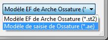 Comment ouvrir un modèle Arche Ossature vers Advance Design ?