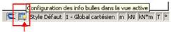 Comment paramétrer l'info bulle présente au survol d'un élément